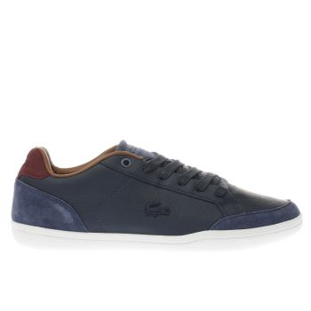 Lacoste Navy Set-Minimal Mens Trainers