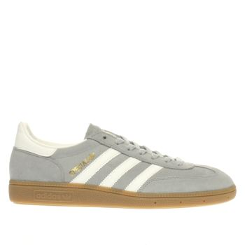 Adidas Light Grey Spezial Trainers