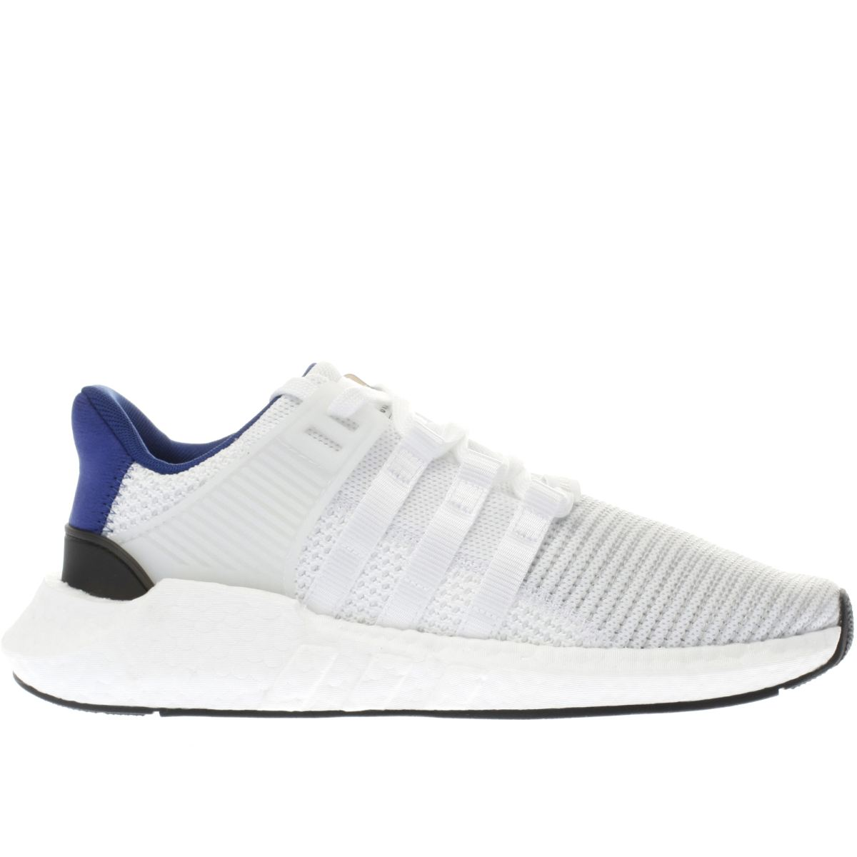 adidas white & navy eqt support 93/17 trainers