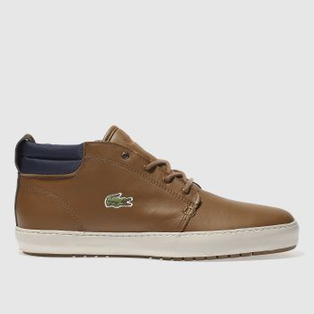 Lacoste Tan Ampthill Terra 317 Mens Trainers