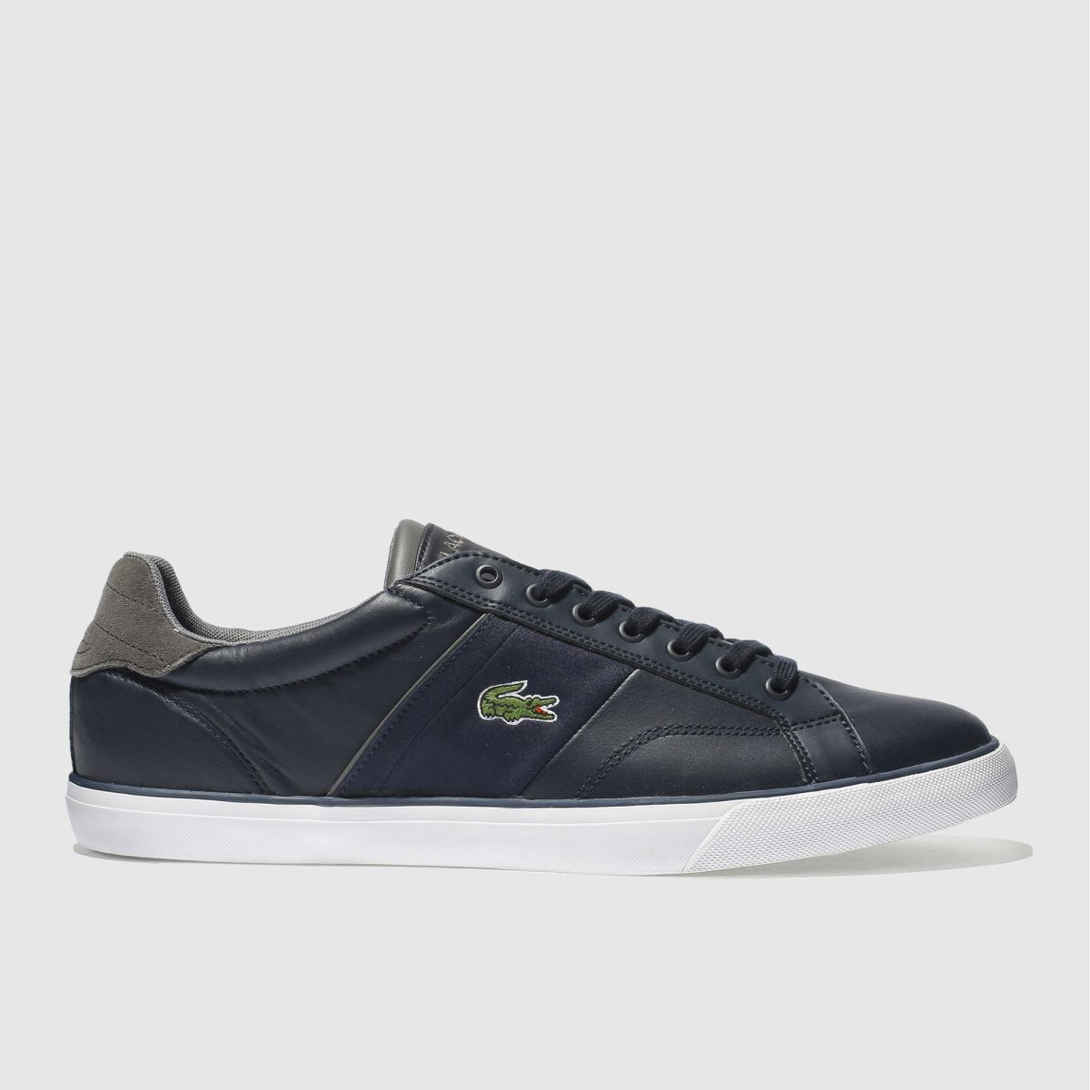 lacoste navy fairlead 317 trainers