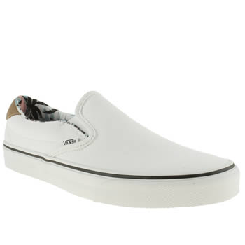 mens vans white slip-on 59 trainers