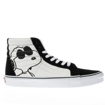 Vans White Sk8-Hi Peanuts Joe Cool Mens Trainers