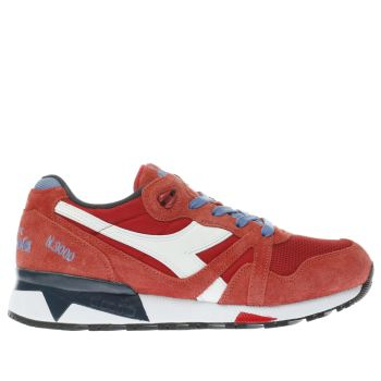 Diadora Red N9000iii Mens Trainers