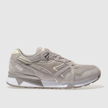 Diadora Grey N9000iii Mens Trainers