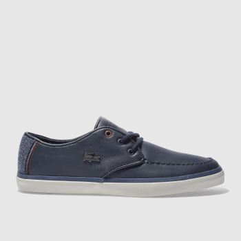 Lacoste Navy Sevrin 417 Mens Trainers