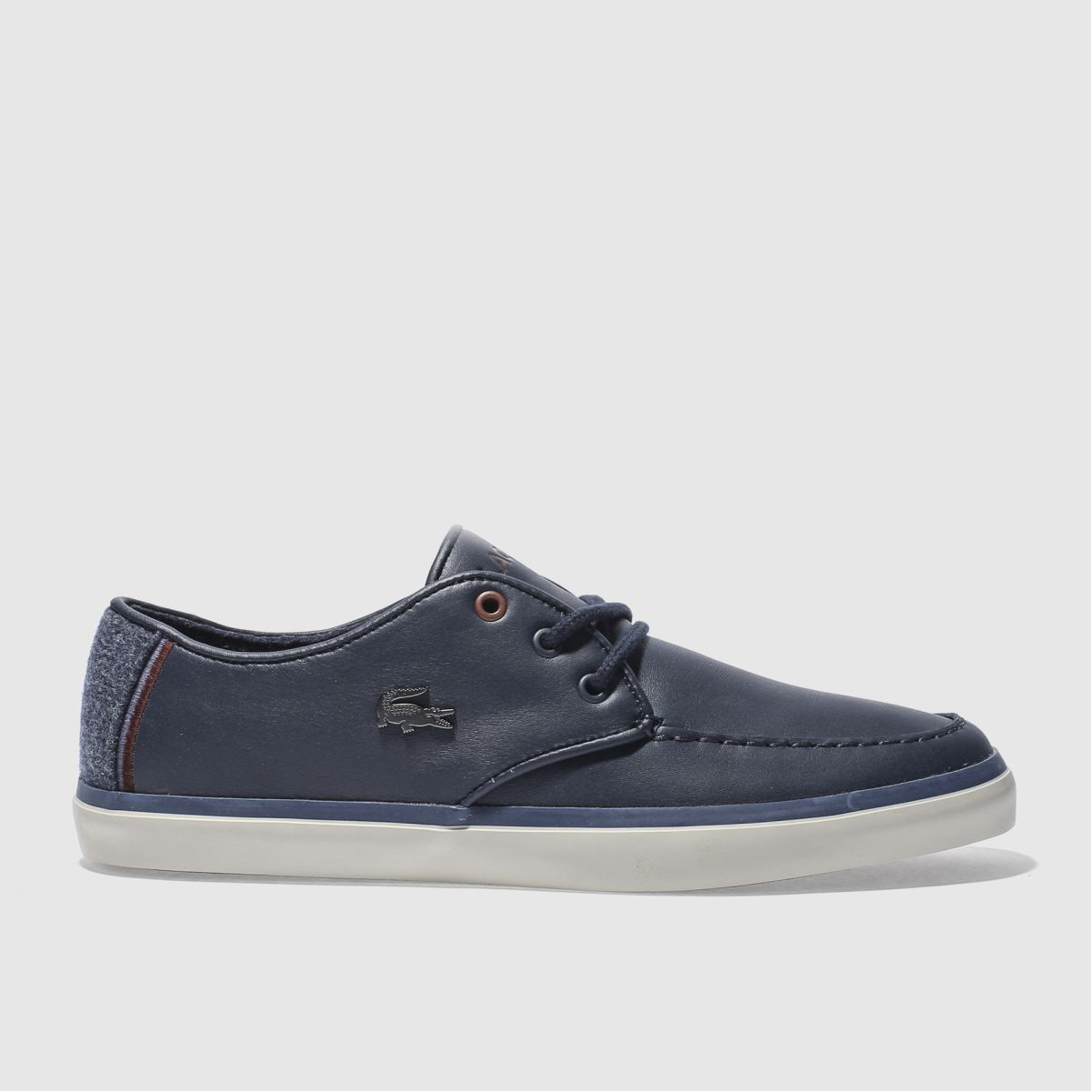 lacoste navy sevrin 417 trainers