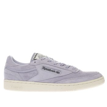 Reebok Lilac Club C 85 Mens Trainers