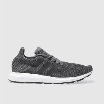 Adidas Grey Swift Run Mens Trainers