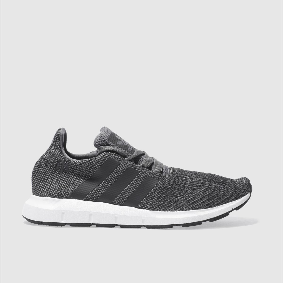 adidas dark grey swift run trainers