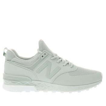 New Balance Green 574 Sport Mens Trainers