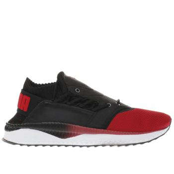 Puma Red Tsugi Shinsei Prime Mens Trainers