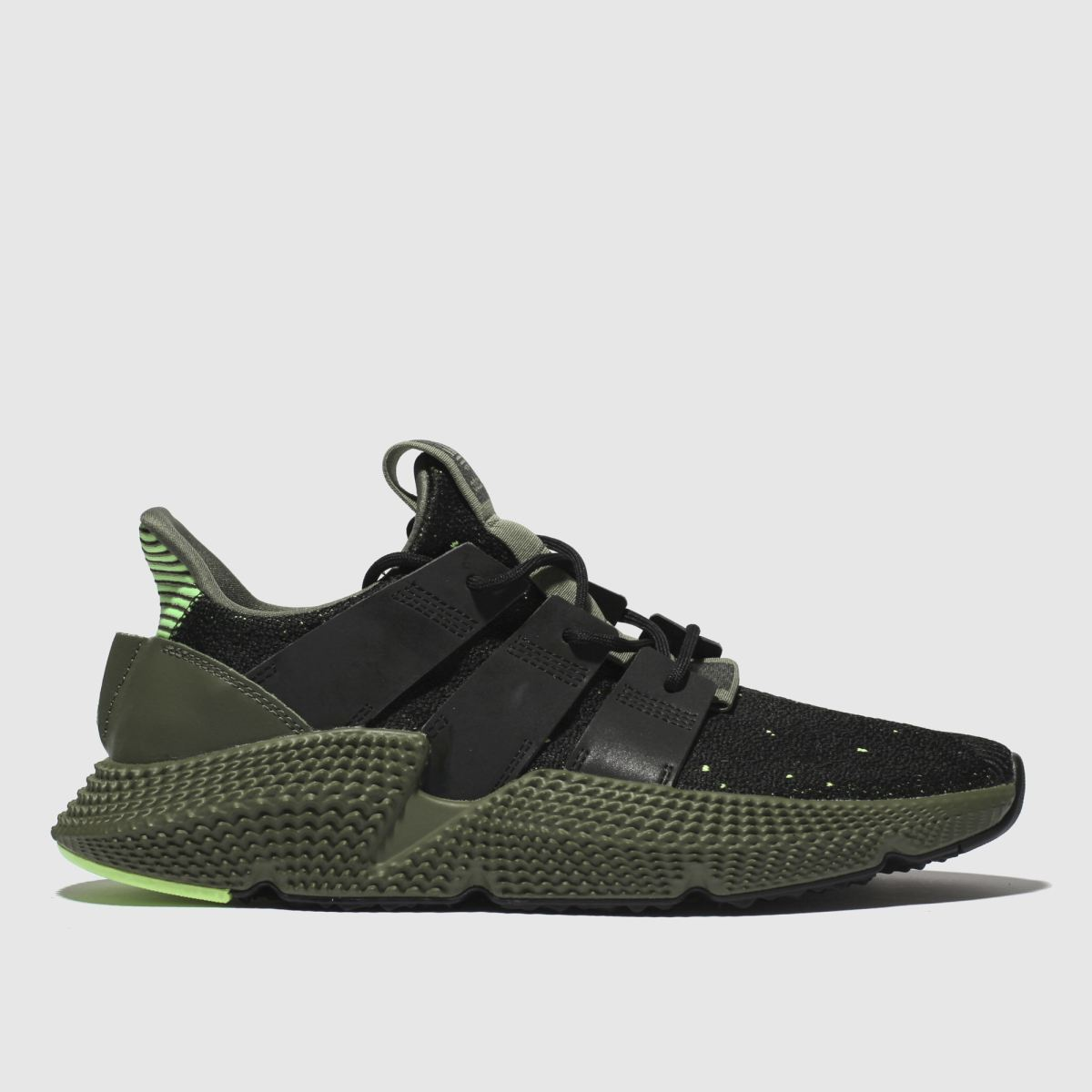 Adidas Black & Green Prophere Trainers
