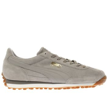Puma Grey Easy Rider Mens Trainers
