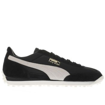 Puma Black Easy Rider Mens Trainers