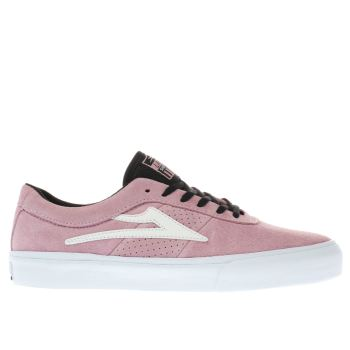 Lakai Pink Sheffield Mens Trainers