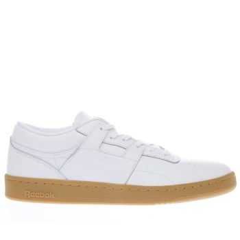 Reebok White Club Workout Mens Trainers