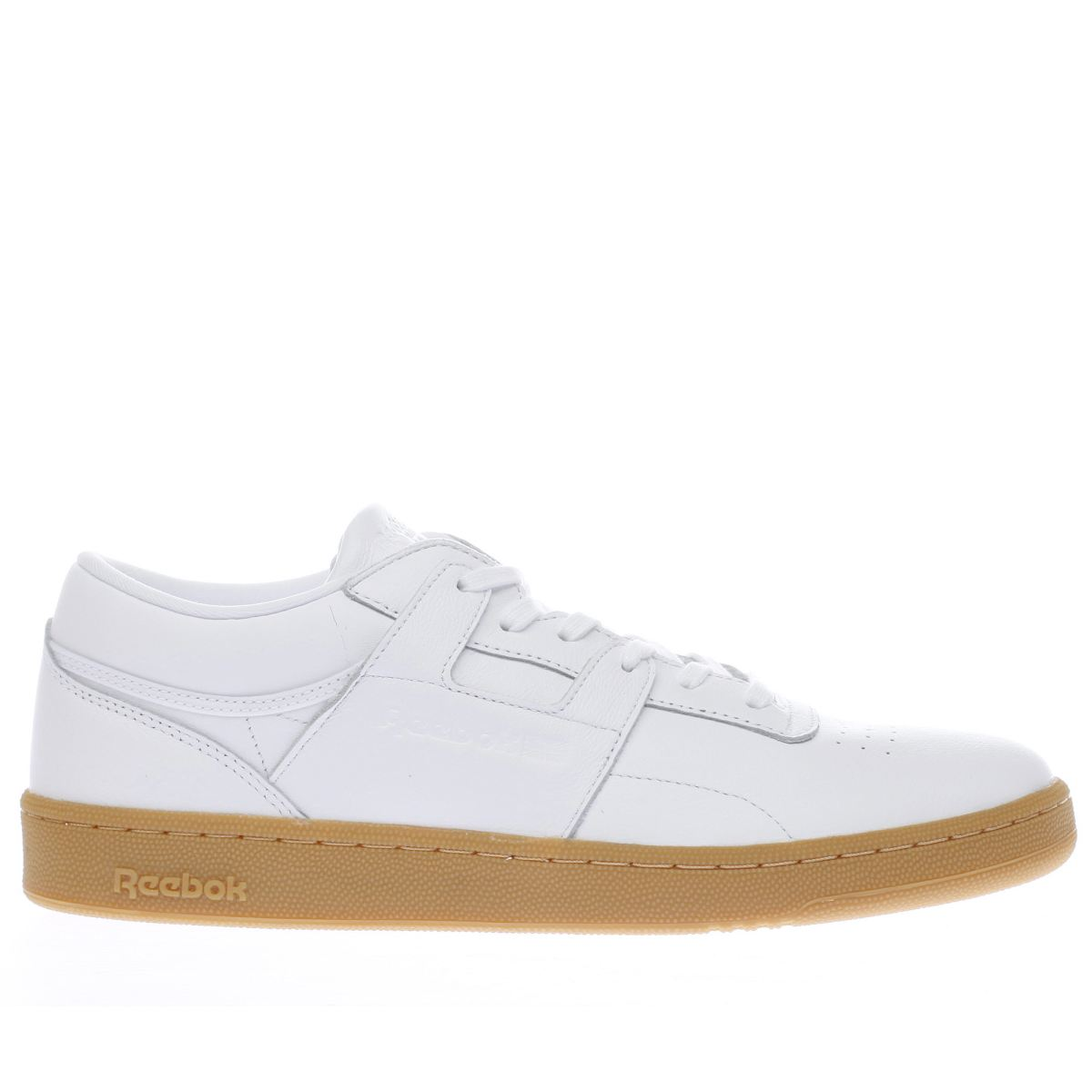 reebok white club workout trainers