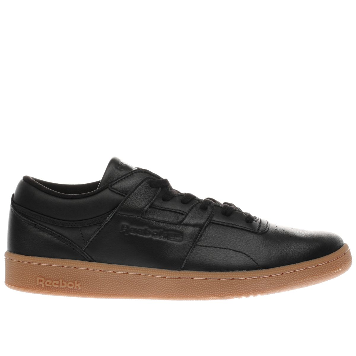 reebok black club workout trainers