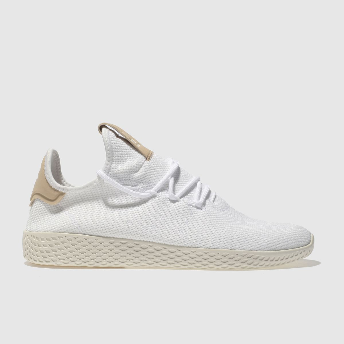 Adidas White Pharrell Williams Tennis Hu Trainers