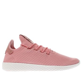 Adidas Pink Pharrell Williams Tennis Hu Mens Trainers