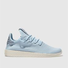 Adidas Pale Blue Pharrell Williams Tennis Hu Mens Trainers