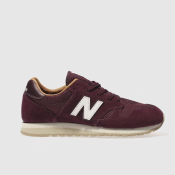New Balance Burgundy 520 Mens Trainers