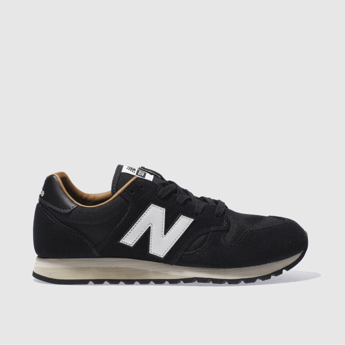 new balance black & white 520 trainers