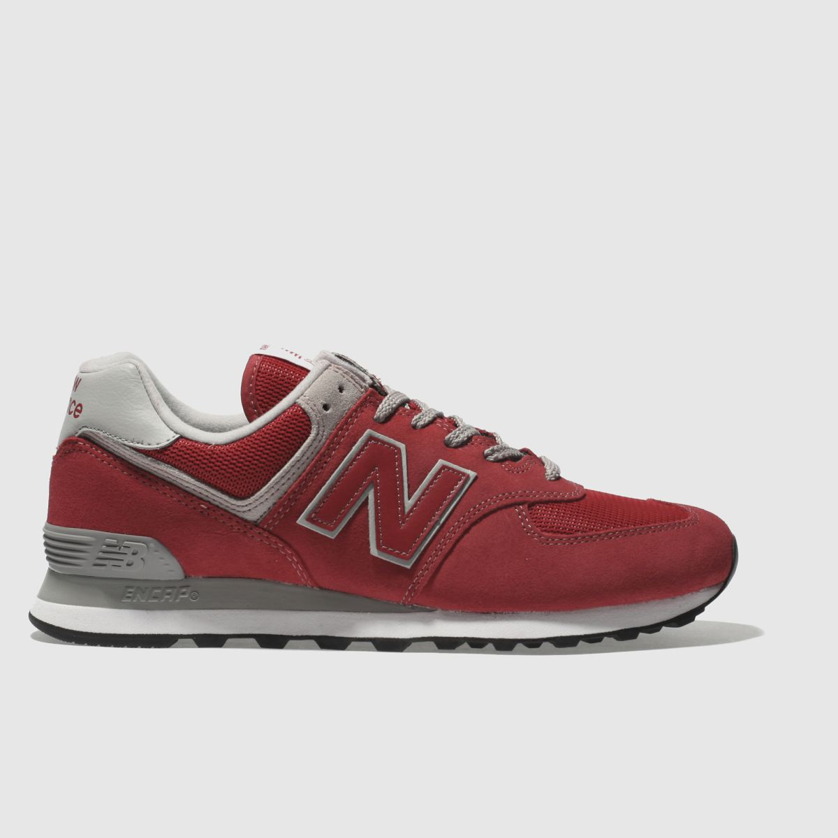 New Balance Red 574 Trainers