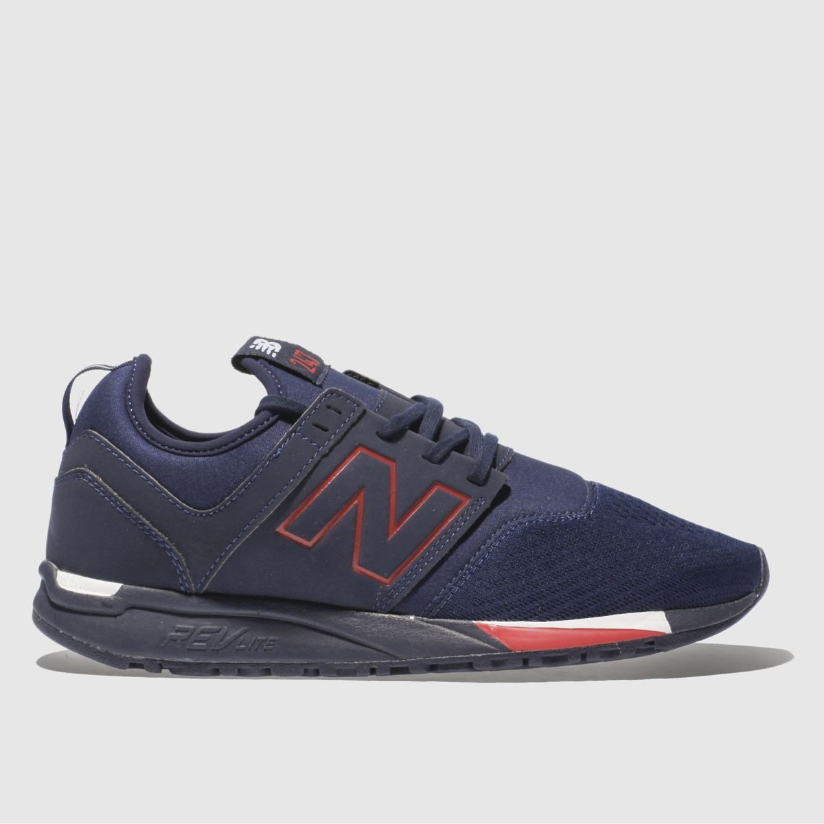 New Balance Navy & Red 247 Trainers