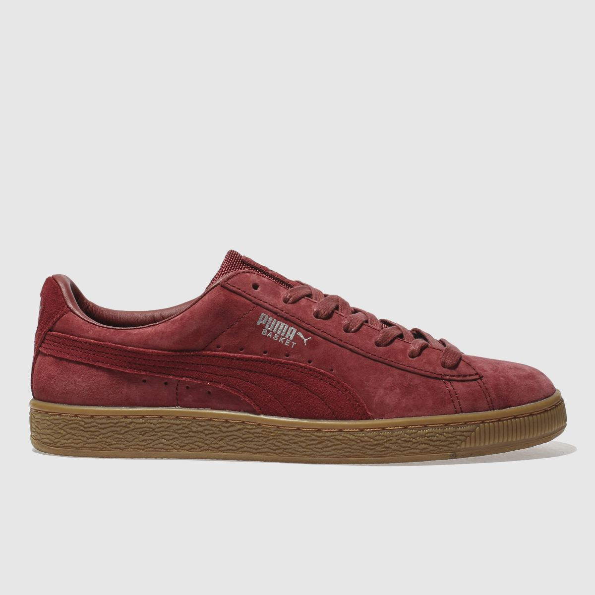 Puma Burgundy Basket Classic Wp Trainers