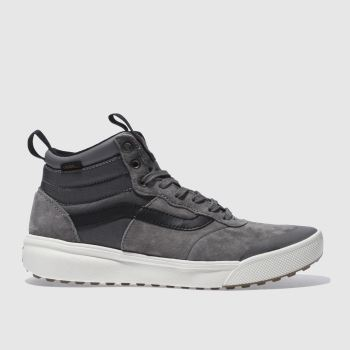 Vans Grey Ultrarange Hi Mens Trainers
