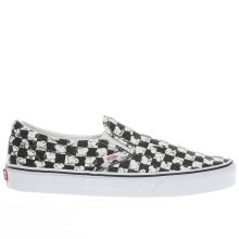 Vans Black & White Classic Slip-on Peanuts Snoopy Mens Trainers