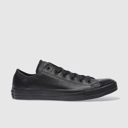 converse all star leather mono ox 1