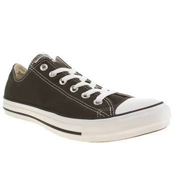 Converse Dark Green All Star Oxford Trainers