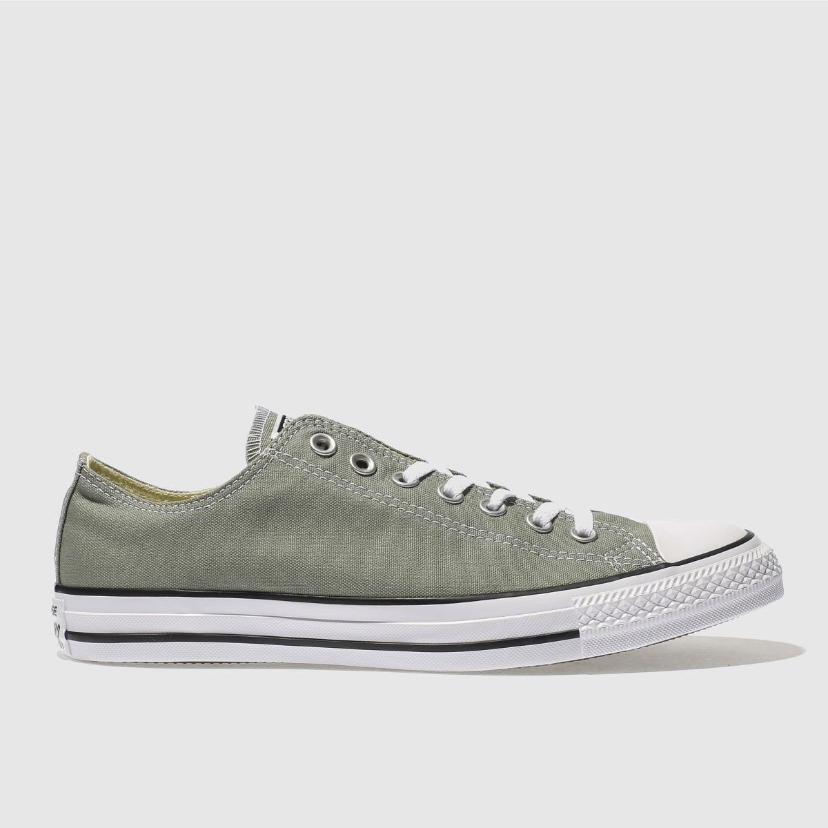 converse khaki chuck taylor all star ox trainers