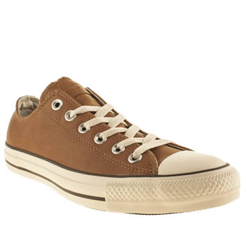 mens converse tan all star speciality ox trainers