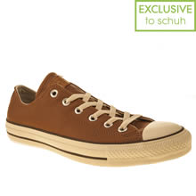 Tan Converse All Star Speciality Ox