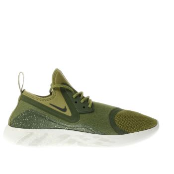 Nike Khaki Lunarcharge Essential Trainers