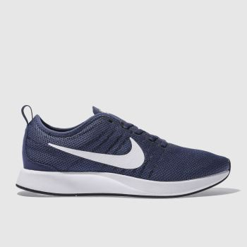 Nike Navy Dualtone Racer Mens Trainers