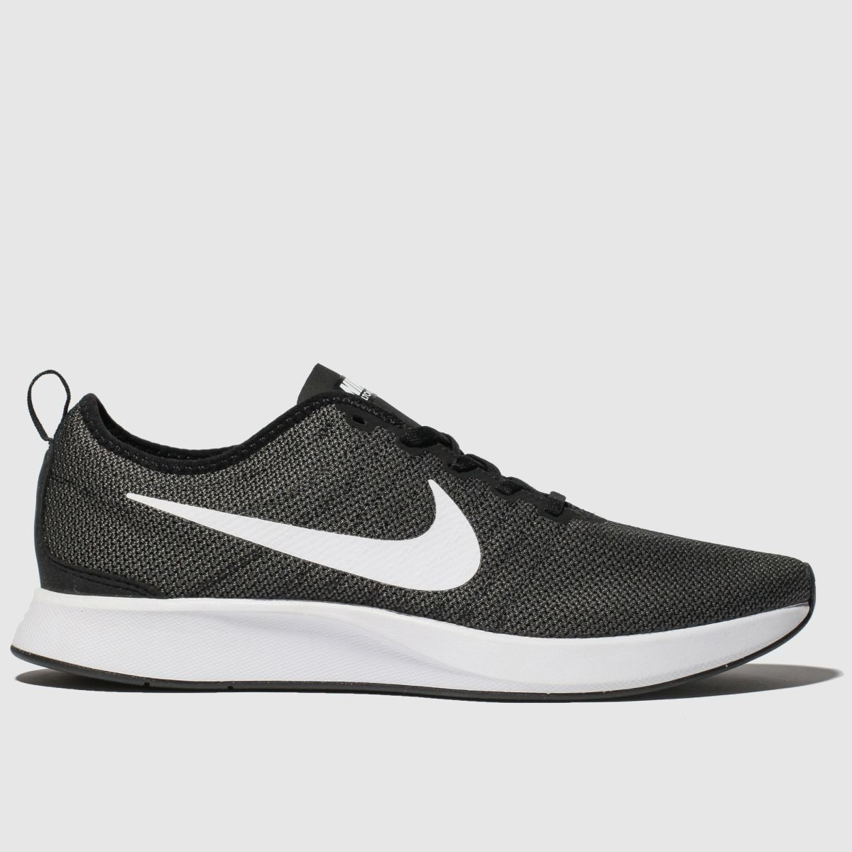 Nike Black & Grey Dualtone Racer Trainers