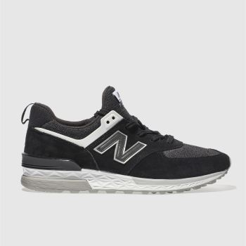 New Balance Black 574 Sport Mens Trainers