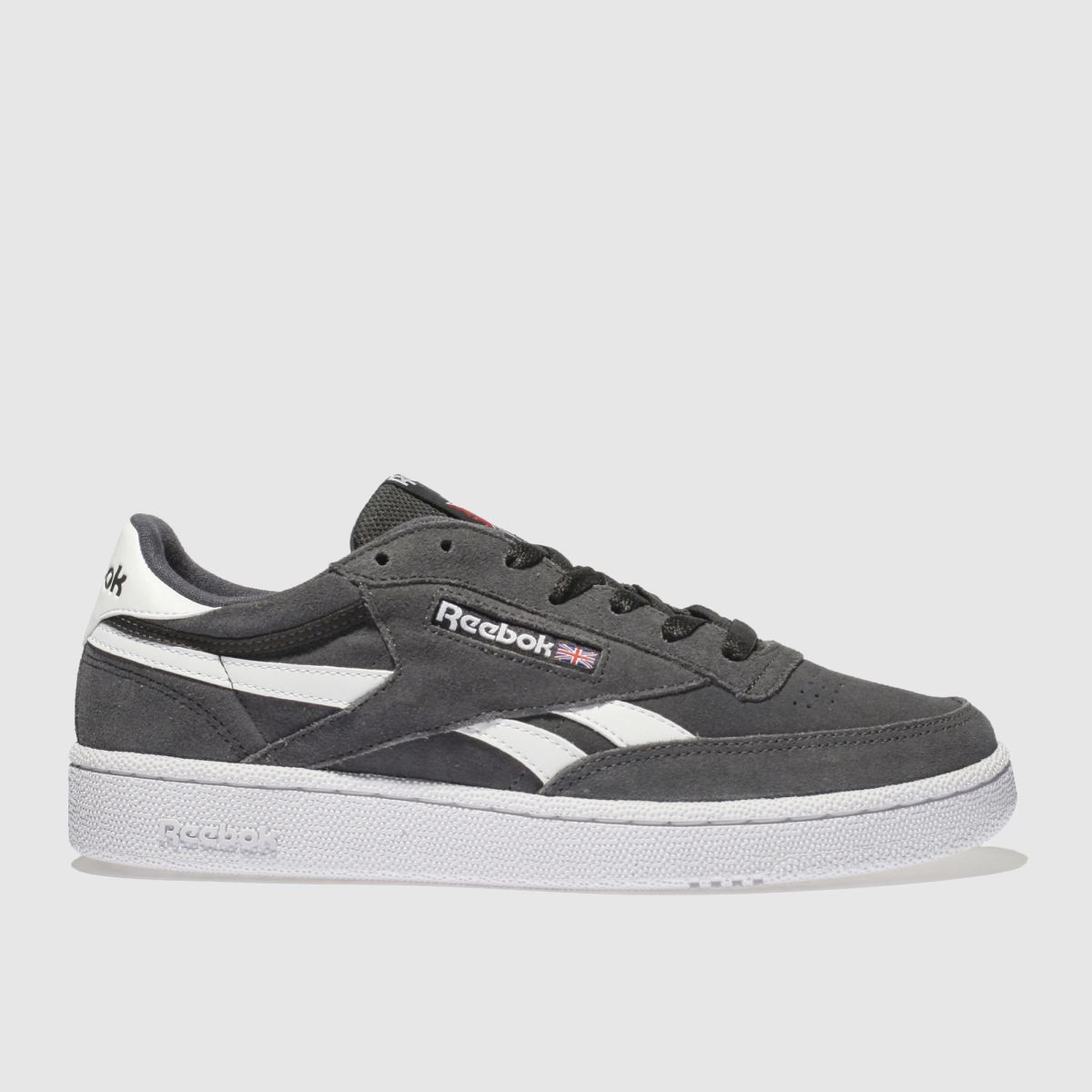Reebok Dark Grey Revenge Trainers