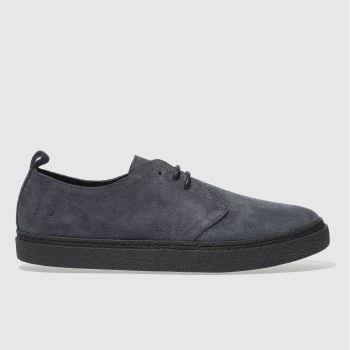 Fred Perry Grey Linden Mens Shoes
