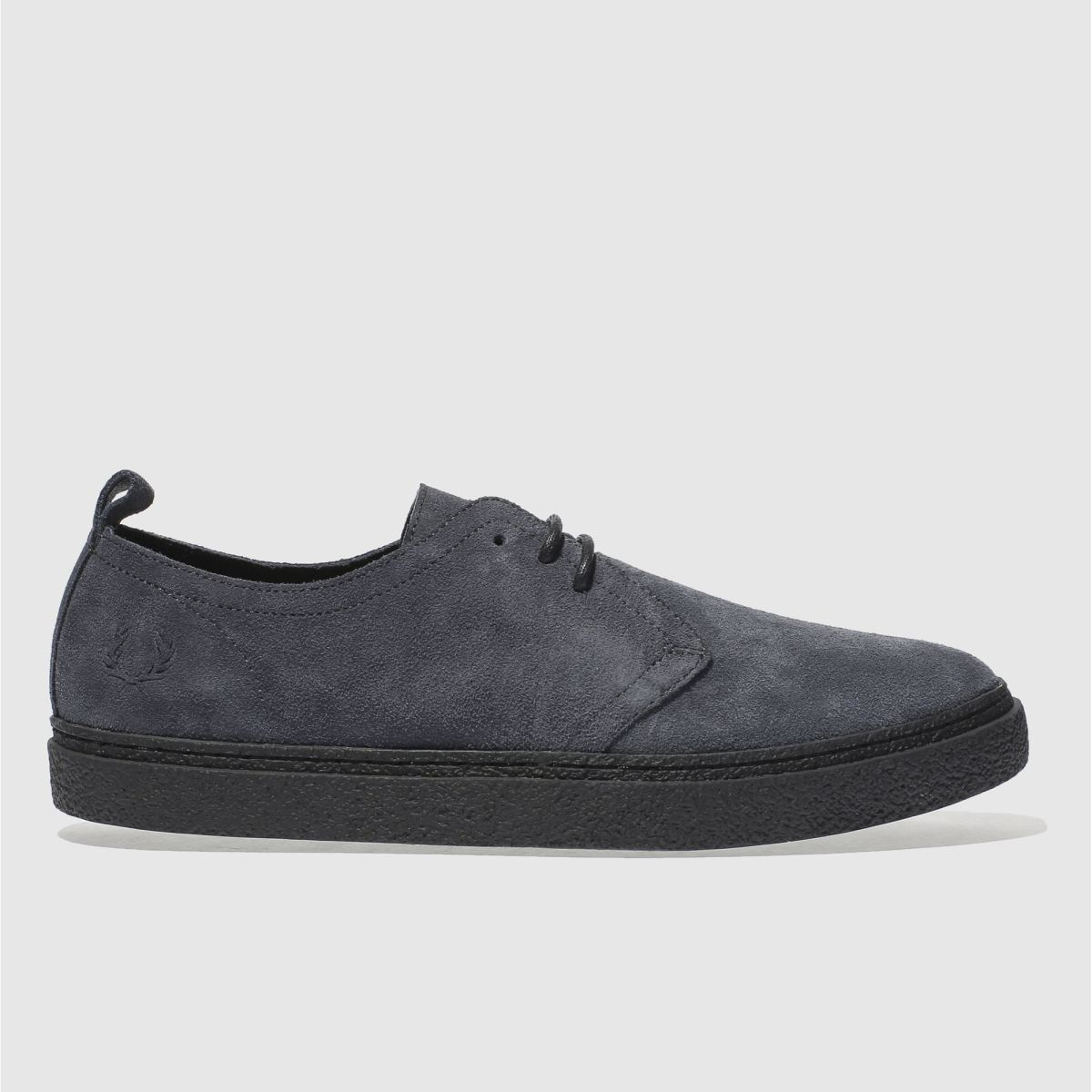 Fred Perry Dark Grey Linden Shoes