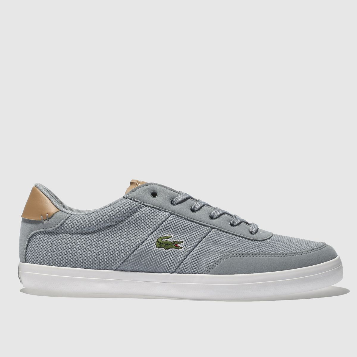Lacoste Pale Blue Court-master Trainers