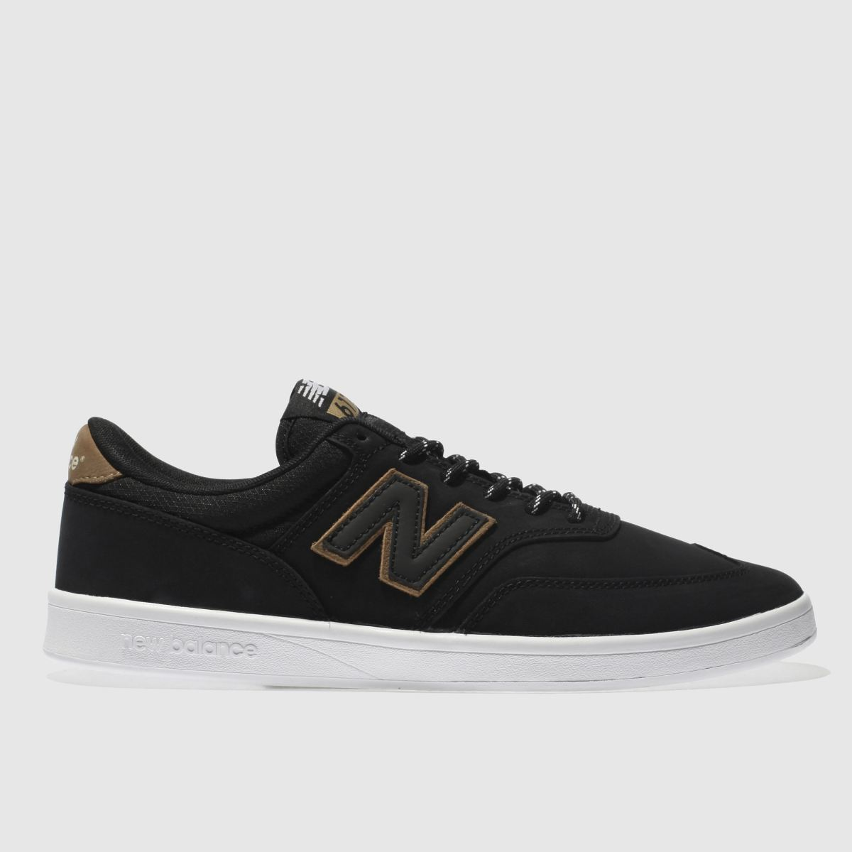 New Balance Black & Brown All Coasts 617 Trainers
