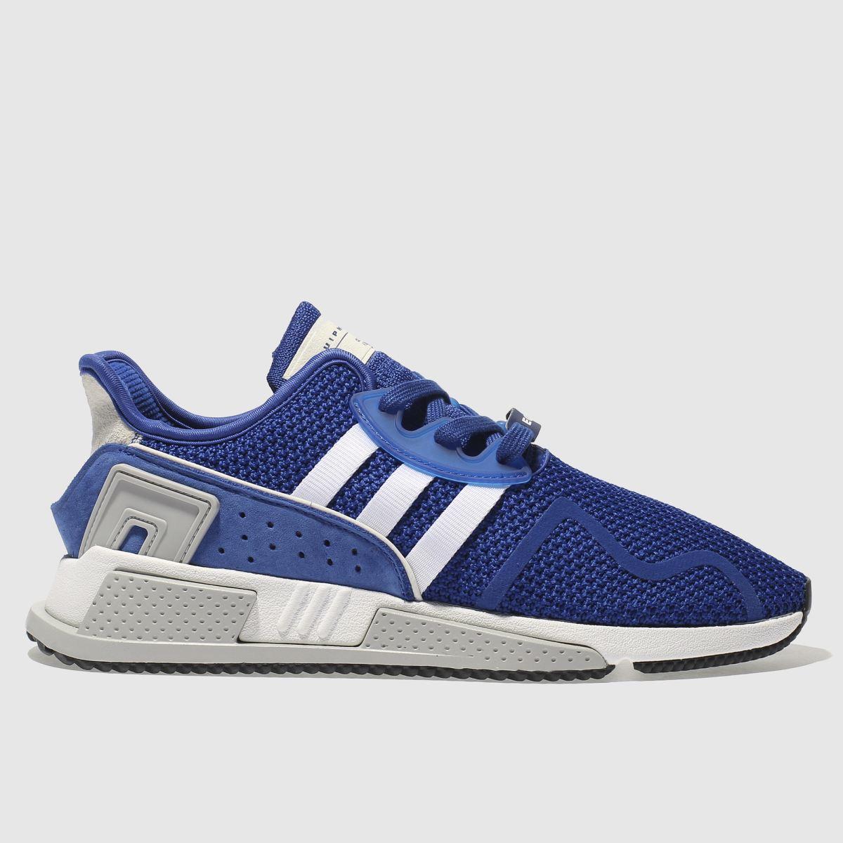adidas blue eqt cushion adv trainers