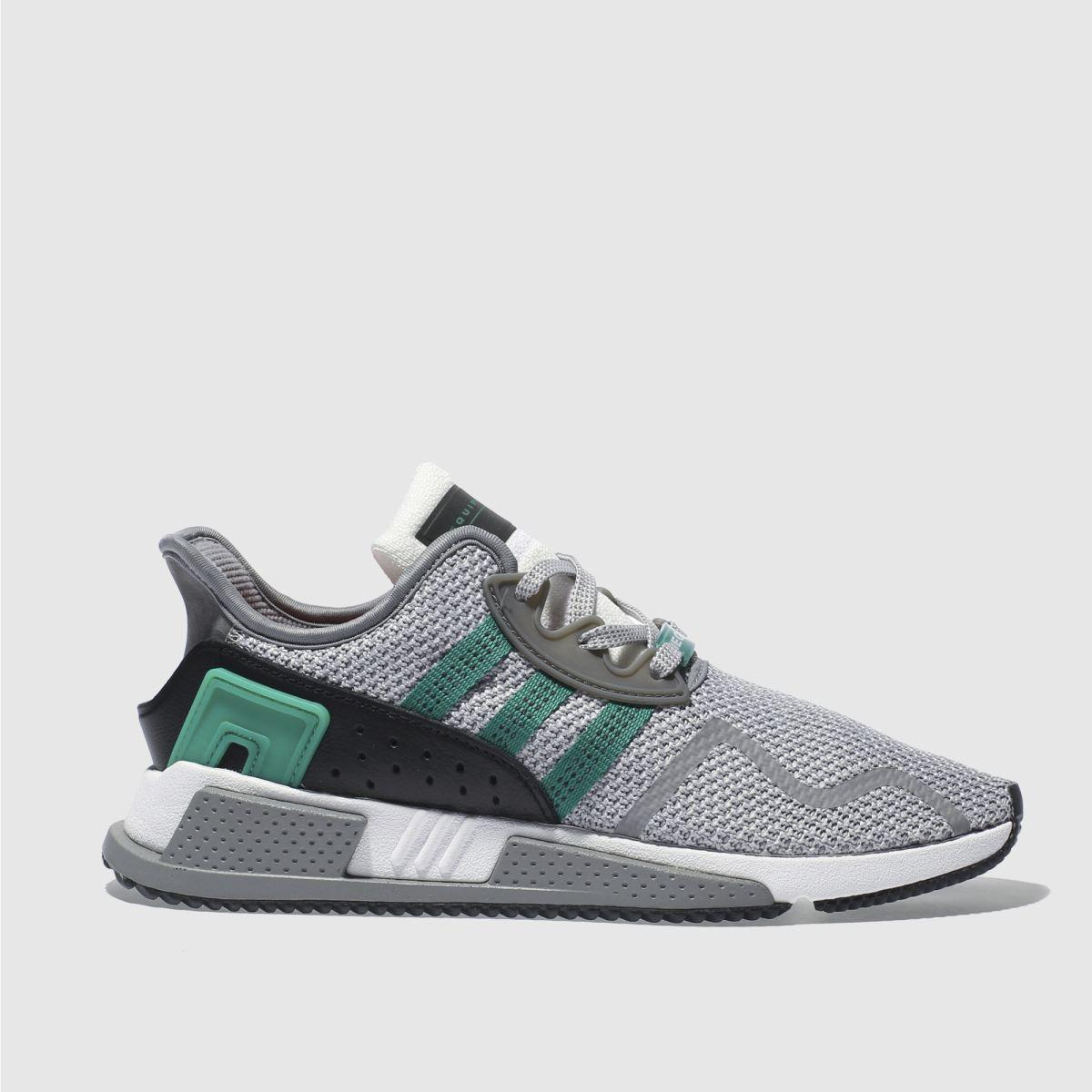 adidas light grey eqt cushion adv trainers
