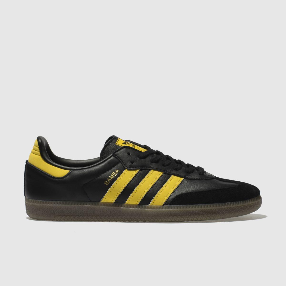 Adidas Black Samba Og Trainers